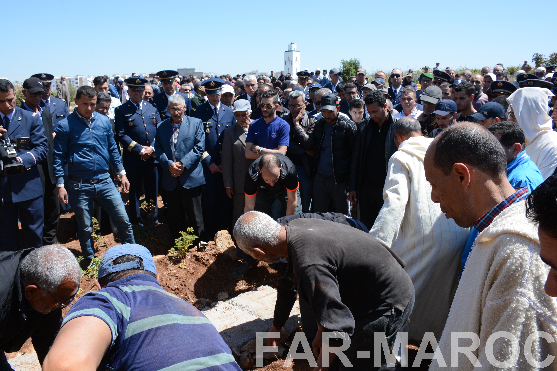 Funérailles de feu le lt colonel Najib El Hadrati et du A/C Hassan Tazi 33860415638_4e6e3d84e5_o