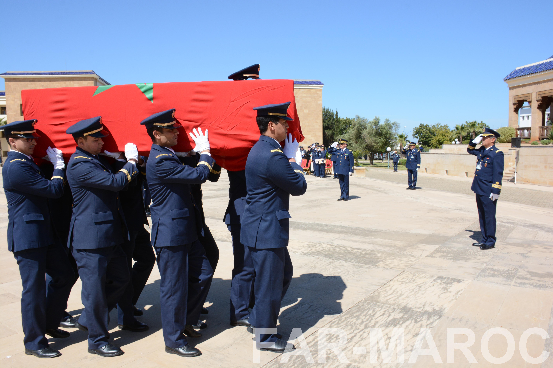 Funérailles de feu le lt colonel Najib El Hadrati et du A/C Hassan Tazi 33860436108_d3c54f6c3e_o