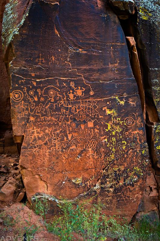 V Bar V Petroglyph Panel