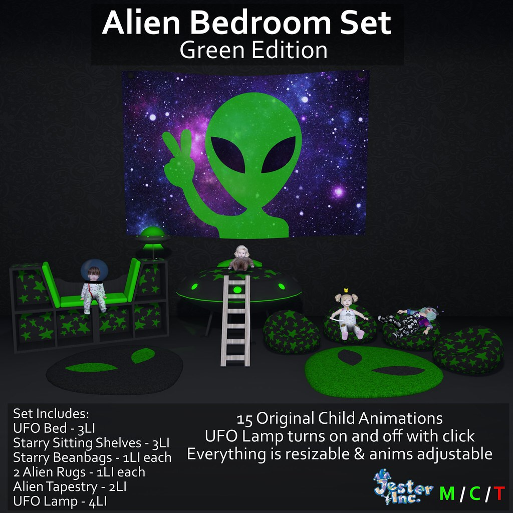 Presenting the Alien Bedroom Set from Jester Inc.