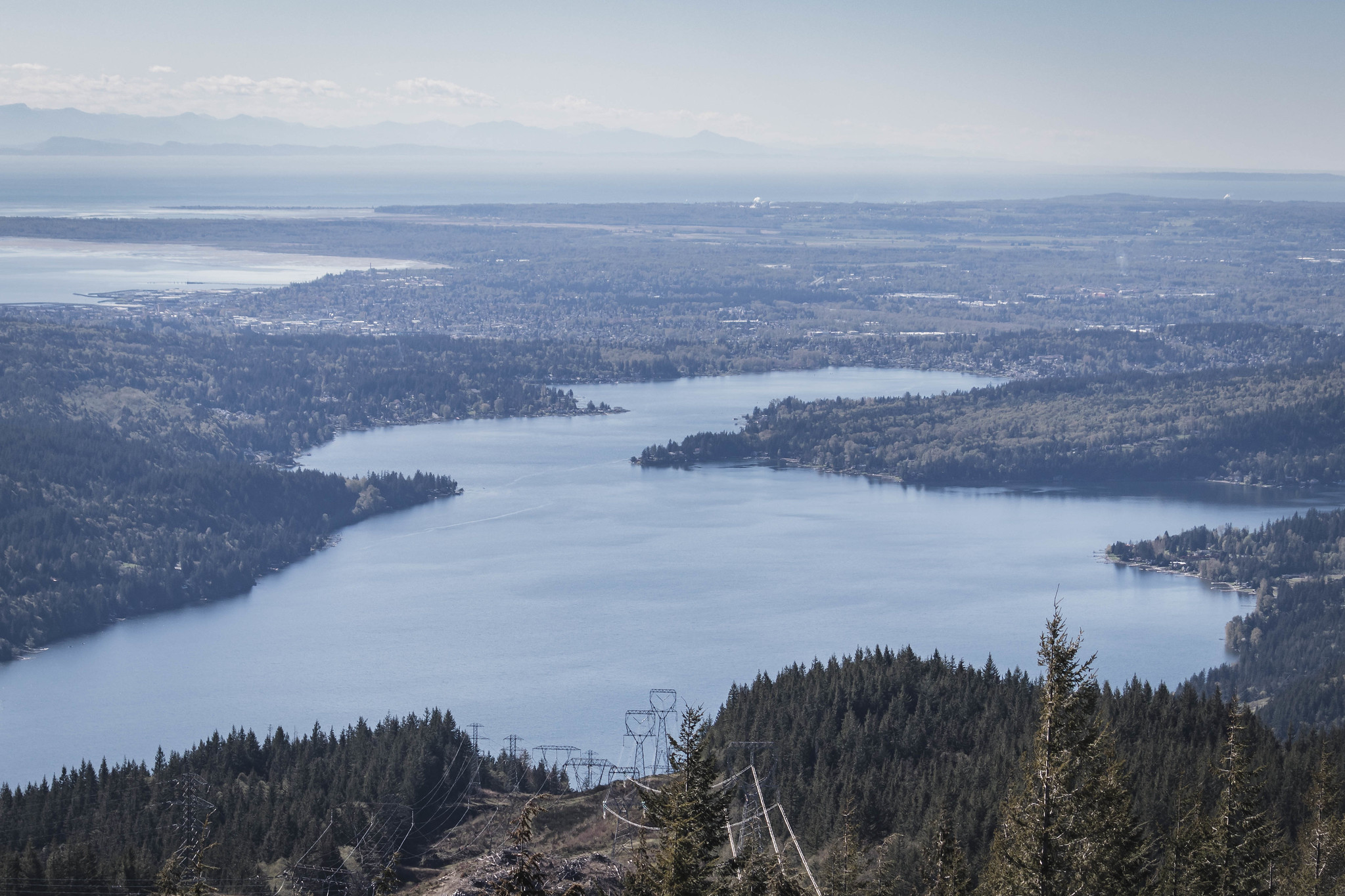 Lake Whatcom and Bellingham