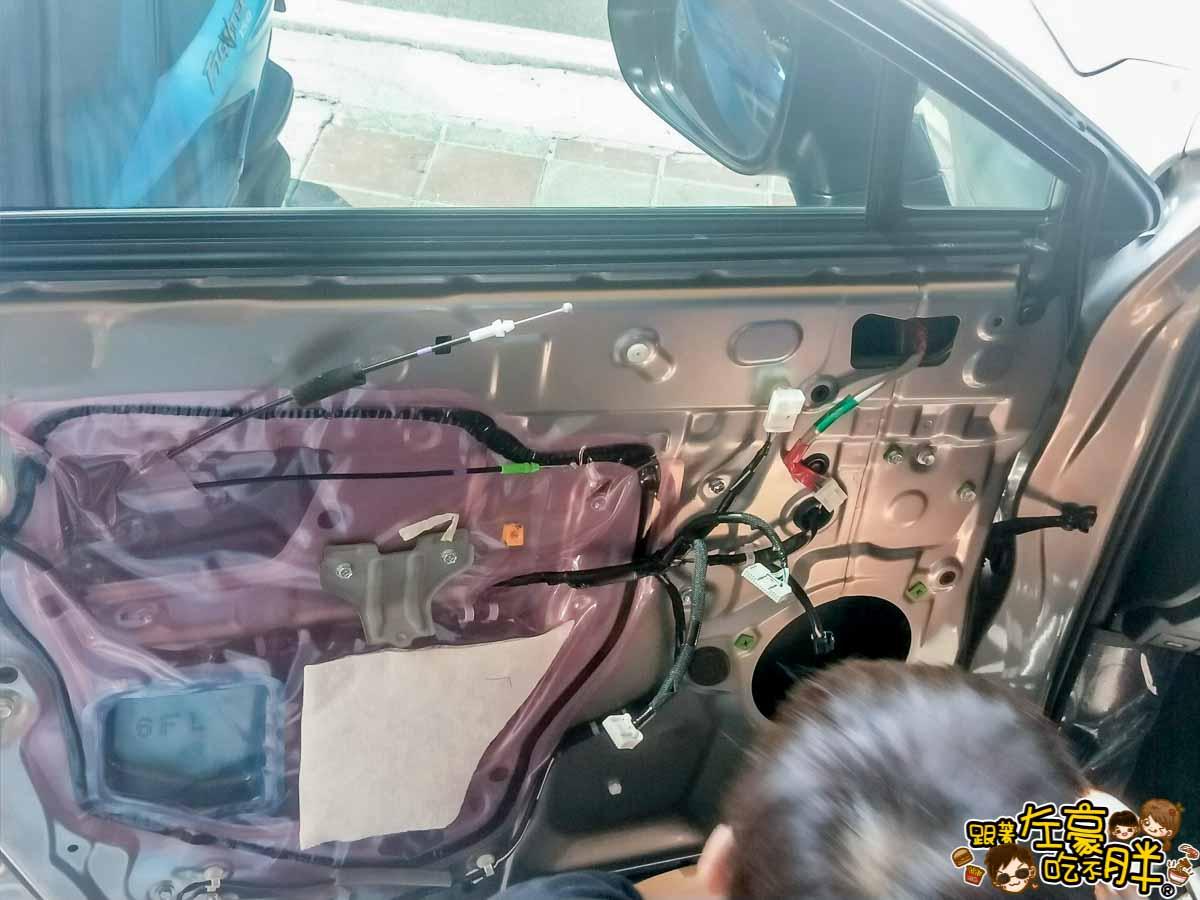 NX200安裝環景盲點解鏡像(台南博勝汽車音響)-21
