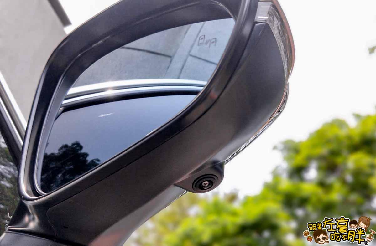 NX200安裝環景盲點解鏡像(台南博勝汽車音響)-2