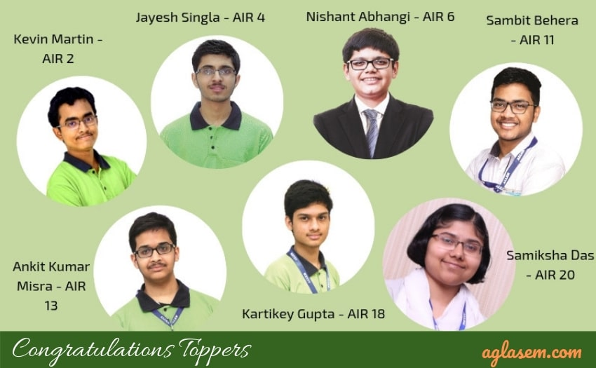 7 Students of Allen Career Institute Toppers