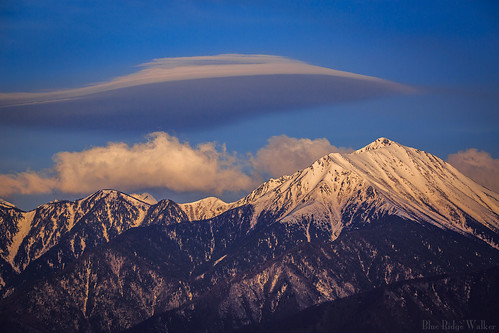 The clouds that floats above the Mt Jyonen