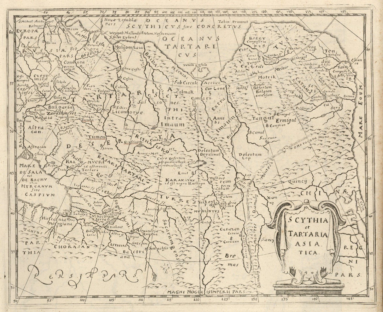 1620-1630. Скифия и Азиатская Тартария