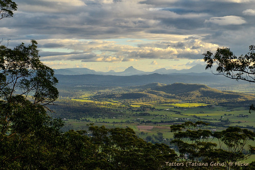 tamborine nationalpark view viewpoint valley australia queensland scenicrim
