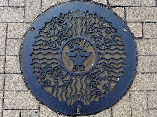 Kodaira Tokyo, manhole cover (東京都小平市のマンホール)