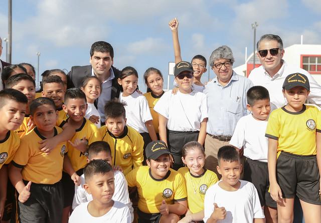 Inauguración Unidad Educativa Eugenio Espejo - Salinas