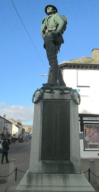 Kendal War Memorial from South