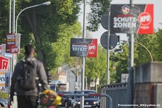 2019.04.30 Rathenow NPD Wahlplakate Verdacht der Volksverhetzung (1)