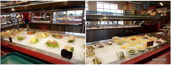 Katz's Deli & Corned Beef Emporium salads and desserts
