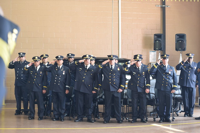 Paterson police, fire promotions 2019