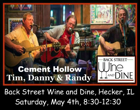 Cement Hollow, Tim, Dan, Randy 5-4-19