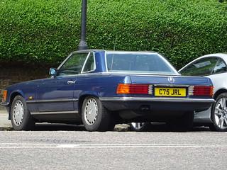 1986 Mercedes Benz 500 SL Auto