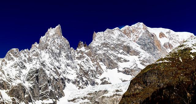 Mt Blanc From Italian Side...