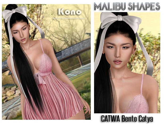 Malibu Shape – Kono – CATWA Bento Catya
