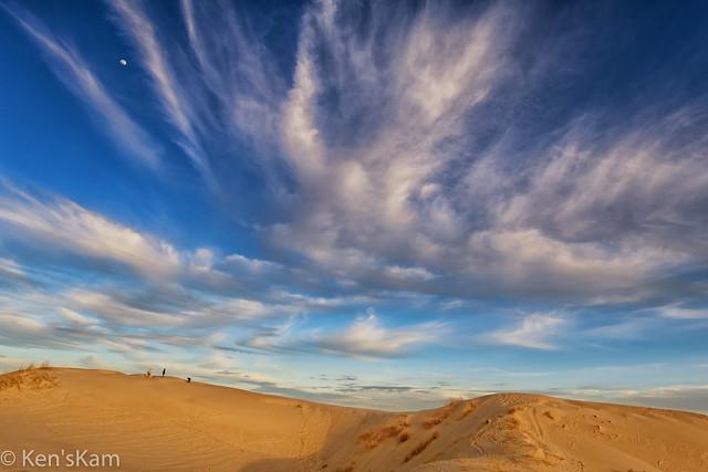 Texas Sky and Sand Dunes