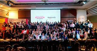 Tres alumnos de la USIL viajaron a Colombia representando a nuestra casa de estudios en el Hult Prize, concurso internacional de emprendimiento social que busca crear, desarrollar y difundir ideas de negocios con el objetivo de resolver problemáticas sociales a nivel global.