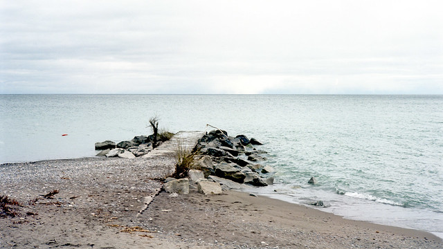 Overcast Lake Ontario