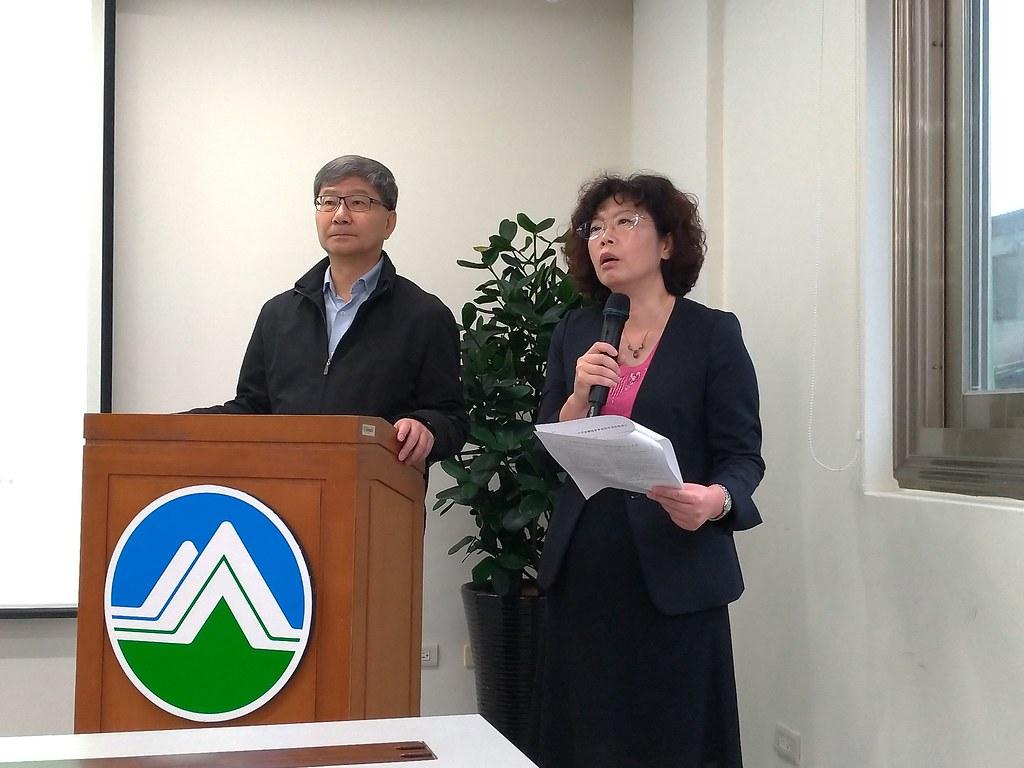20190501 環保署副署長沈志修及廢管處處長賴瑩瑩說明法案內容