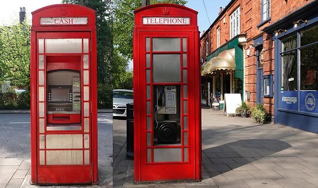 Telephone and Cash Box. April 2019