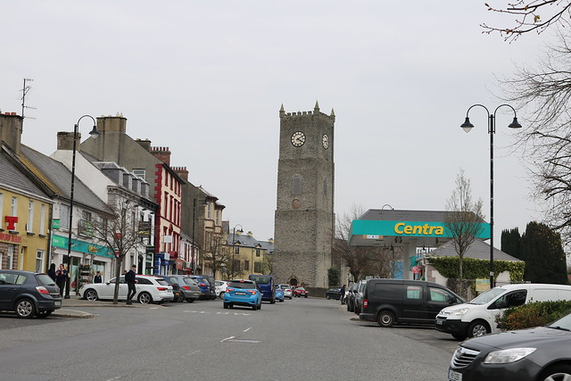 St Eunan's Cathedral, Raphoe, viewed from William Street.