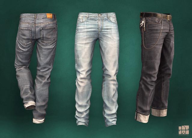 [Deadwool] Kojima jeans
