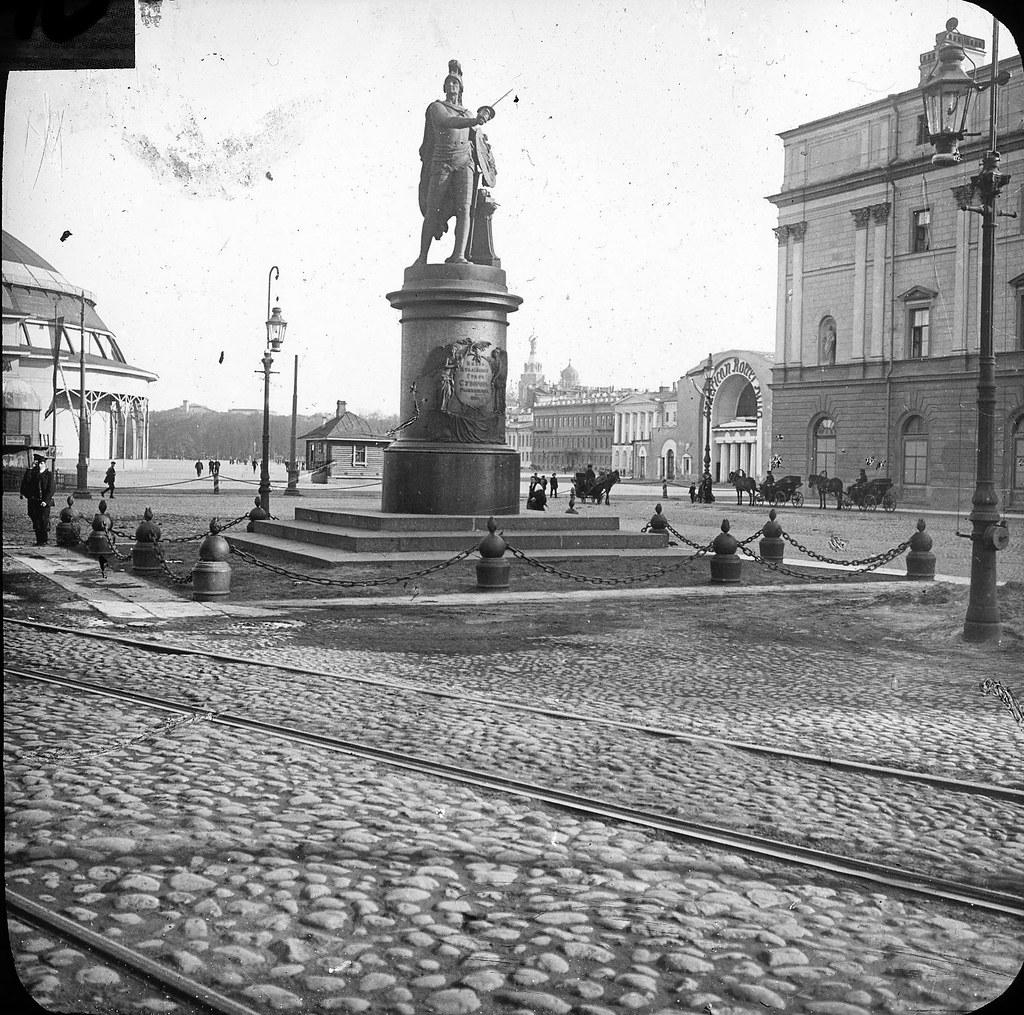 Памятник А.В. Суворову. 1913