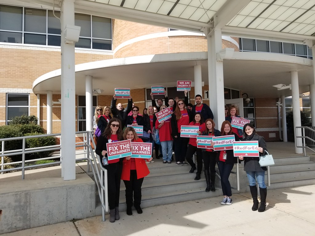 Wayne Education Association – Painting the Town Red