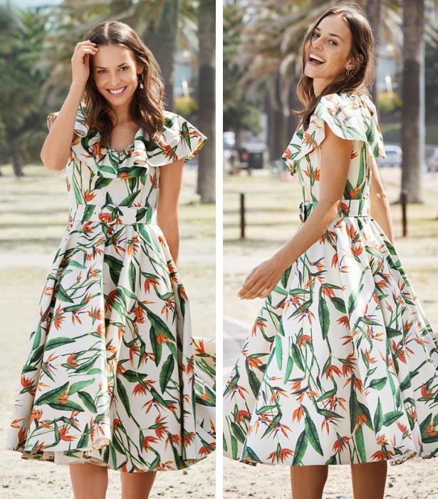 Retro Dress Pattern Store