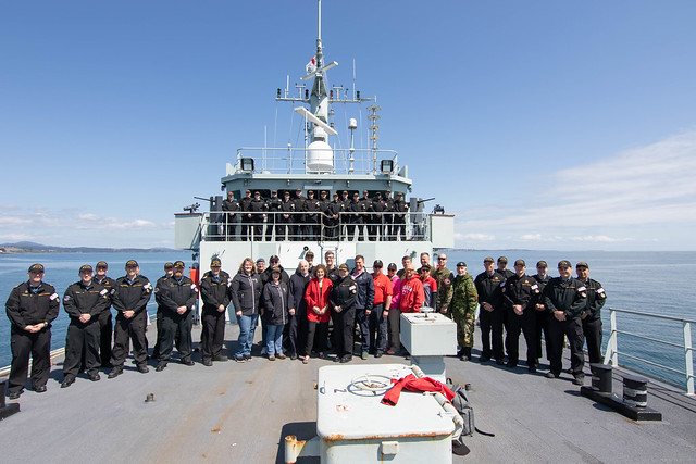 April 24, 2019 - HMCS Edmonton Day Sail