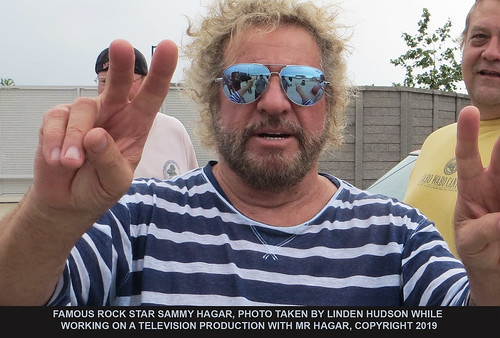 FAMOUS ROCK STAR SAMMY HAGAR - CANDID | by lindenhud1