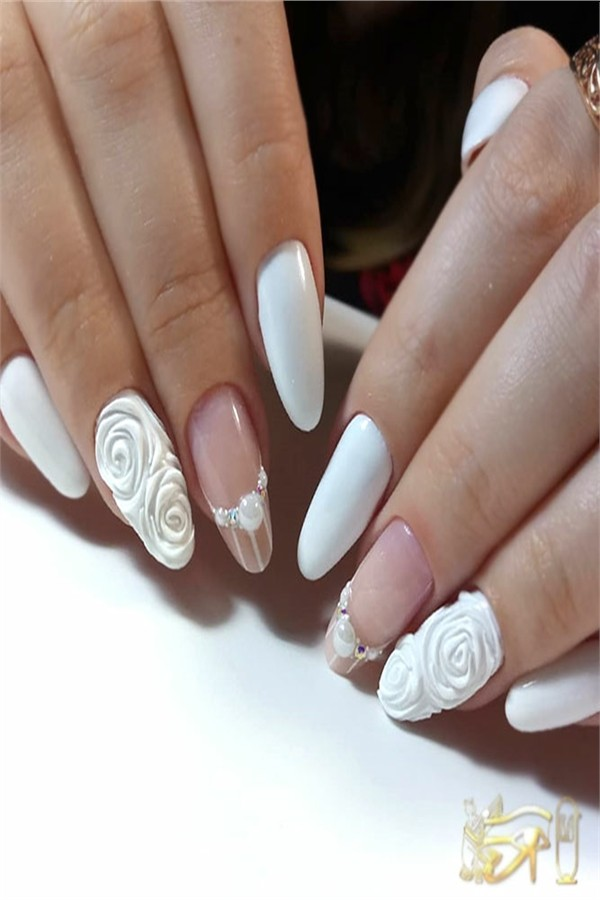 3D Nails - Top Gallery #nail_art_designs #trendy_nails #3d_nails #3d_manicure