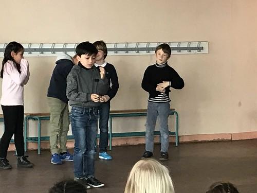 Théâtre en CE1 - 2019