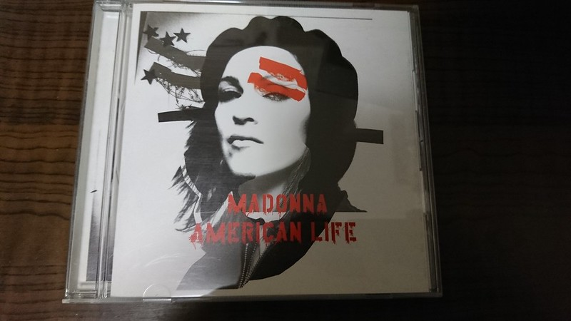 マドンナもゲバラだけは好きらしい。Madonna, American life.
