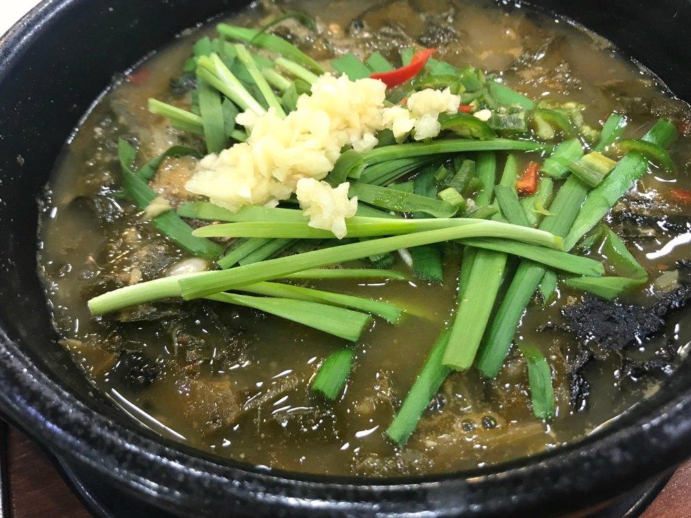 What to eat in Seoul, Korea: Chueotang