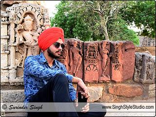 Sikh Male Model Portfolio Photography in Delhi India