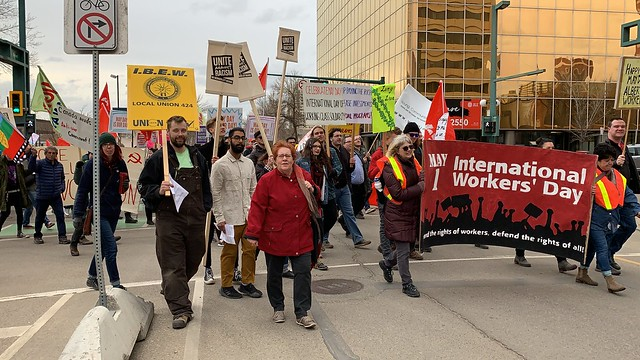 May Day 2019 - Edmonton