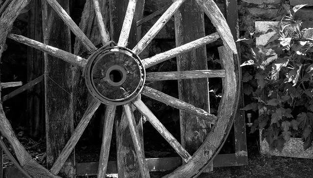 wagon wheel 2 / rueda de carro 2