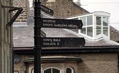 Directions. Buxton. Derbyshire. April 2019