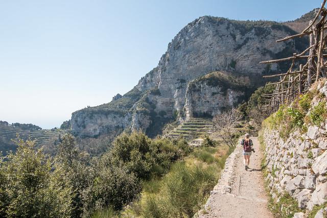 Sentieri Degli Dei trail