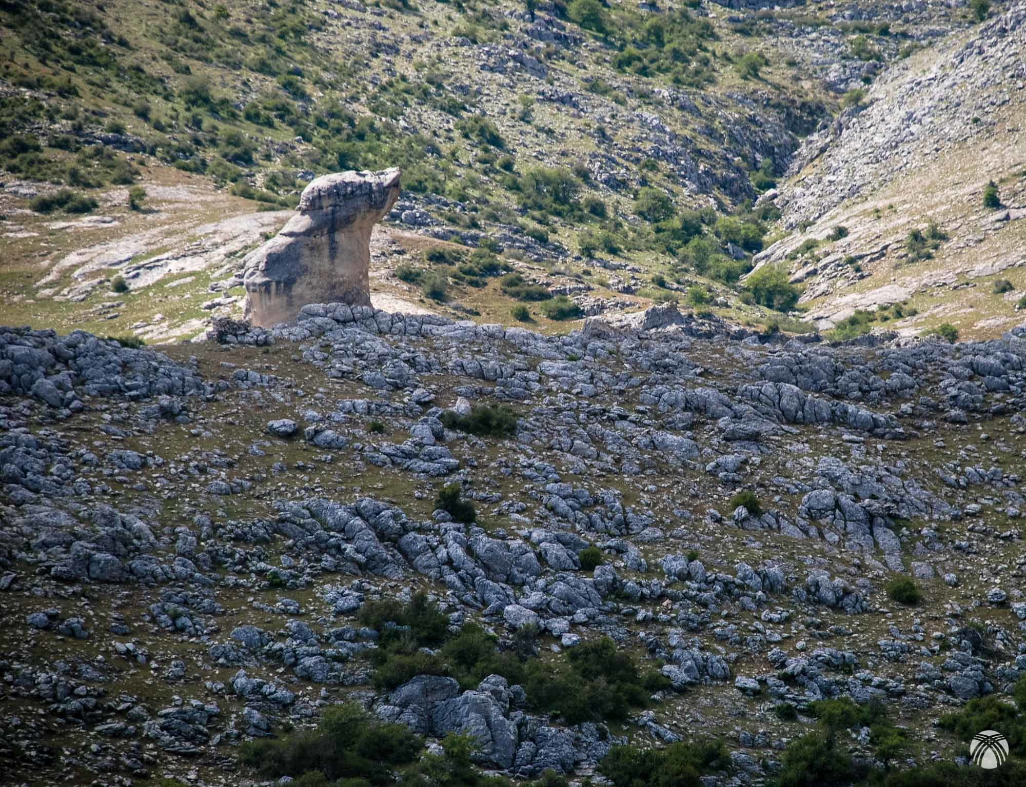 Geoformas curiosas típicas de Castril