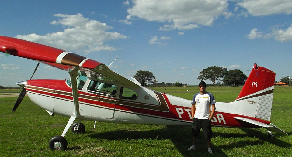 Pai de piloto desaparecido diz que filho tinha rota planejada para Rondônia; vídeo, avião - marcos vinicius