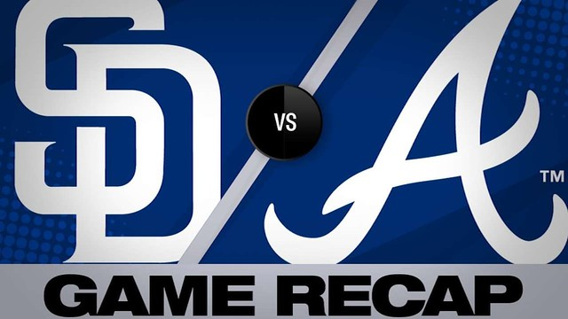 5/2/19: Kinsler, Myers power Padres' rout of Braves