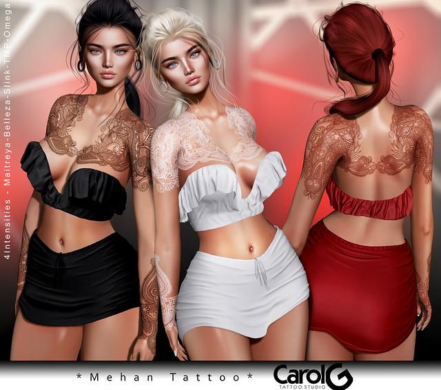 Mehan Tattoo [CAROL G]