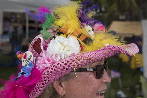 Hat on Jazz Fest day 5 on May 2, 2019. Photo by Ryan Hodgson-Rigsbee RHRphoto.com
