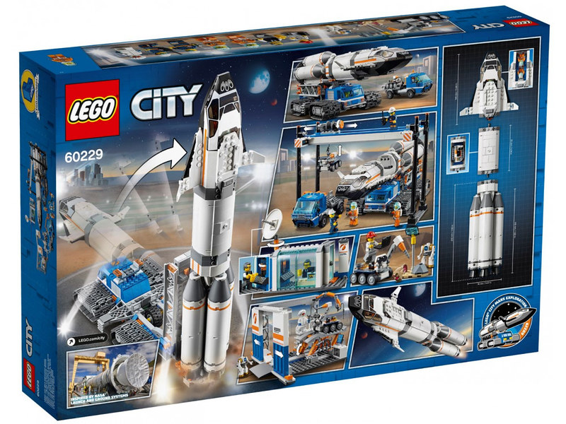 LEGO City Rocket Transport (60229) 02