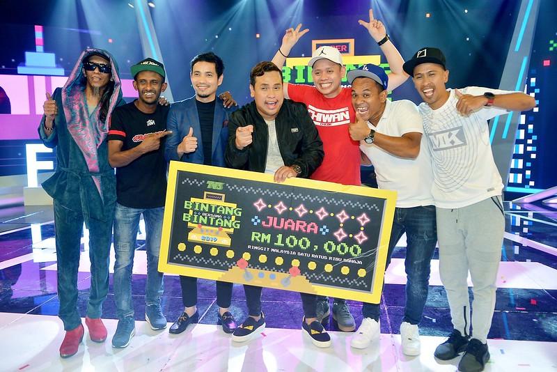 Shuk Super Bintang Bersama Bintang 2019