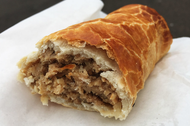 Sausage roll: Sunny Hot Bread
